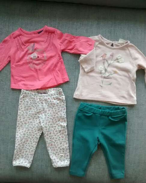 Imagen producto Ropa bebé 3 - 6 meses. pack 2