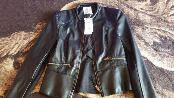 Imagen chaqueta d cuero mujer