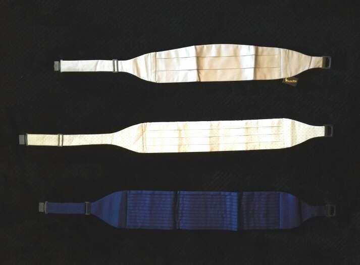 Imagen nuevos - 3 fajines de ceremonia emidio tucci