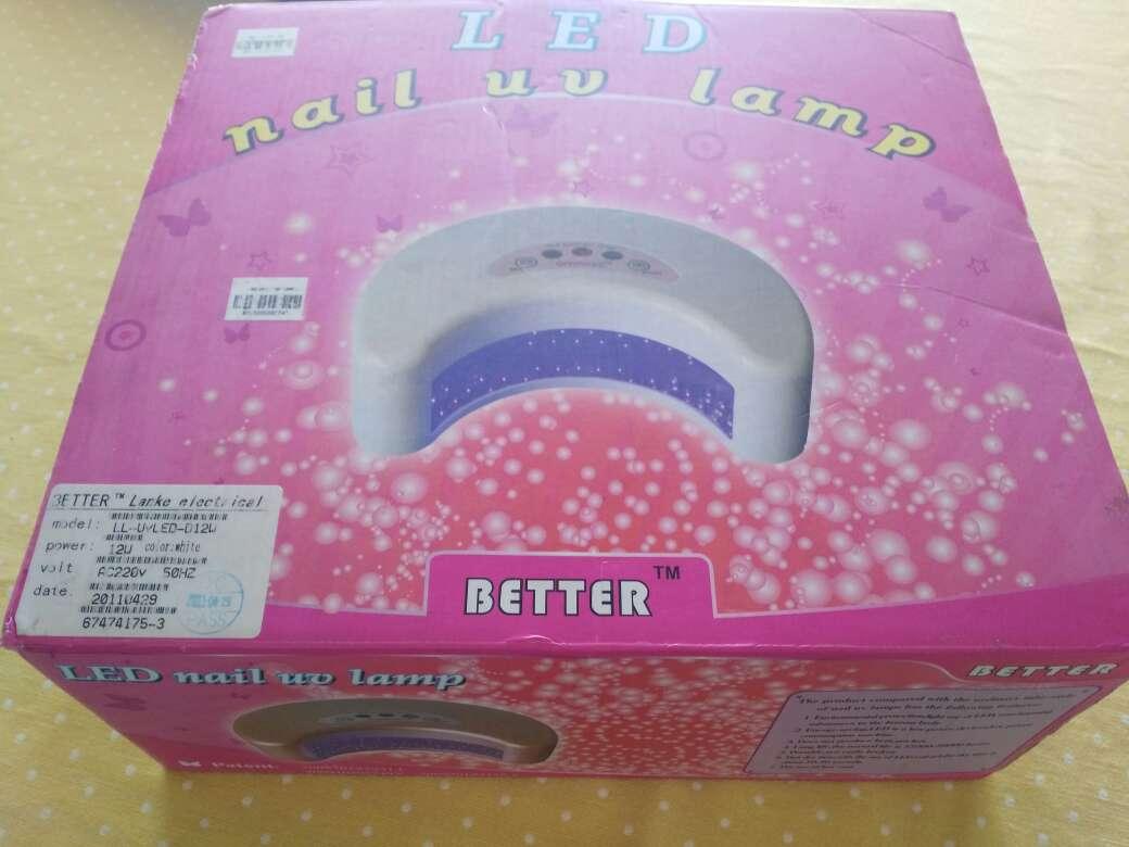Imagen producto Maquina para secar uñas de gel 2
