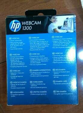 Imagen producto HP webcam 1300 2