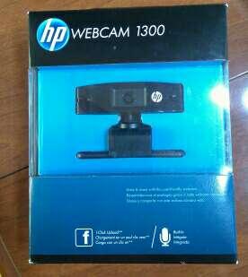 Imagen HP webcam 1300