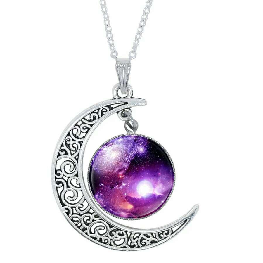Imagen Colgante luna de plata