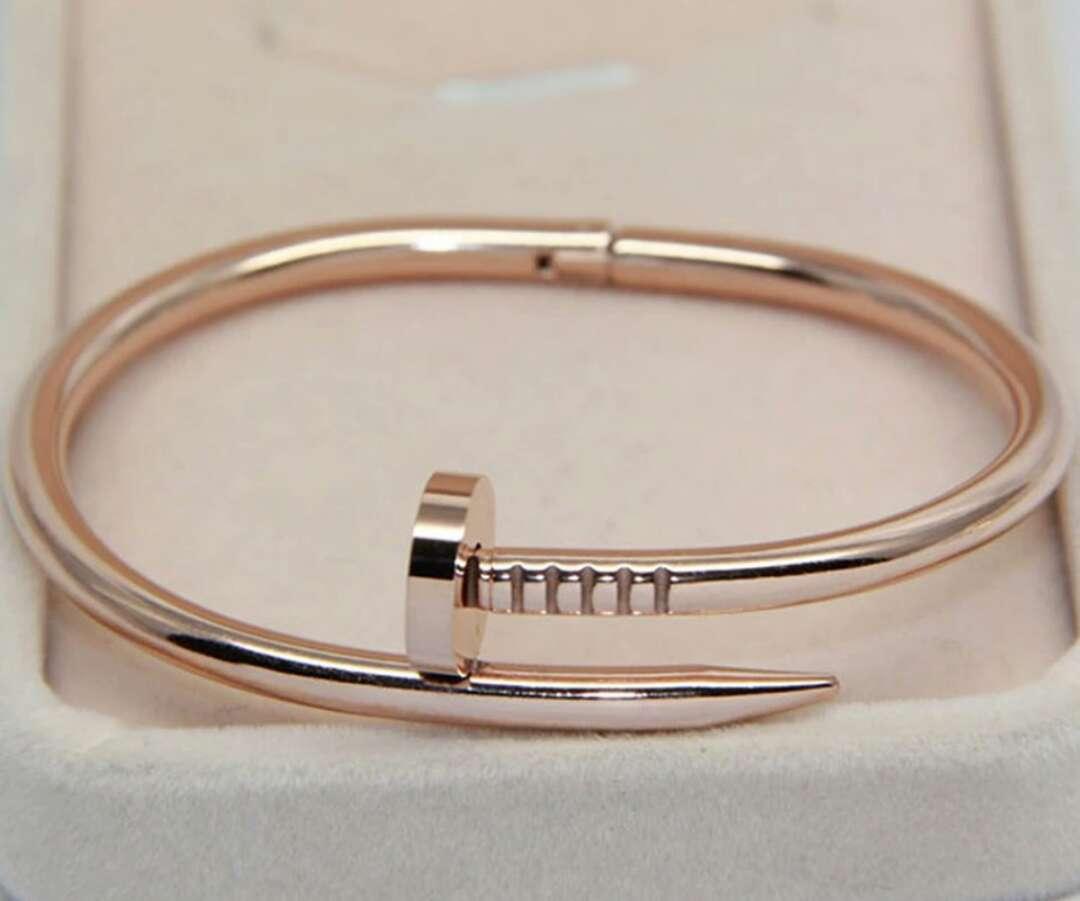 Imagen Pulsera Cartier imitación color rosa oro