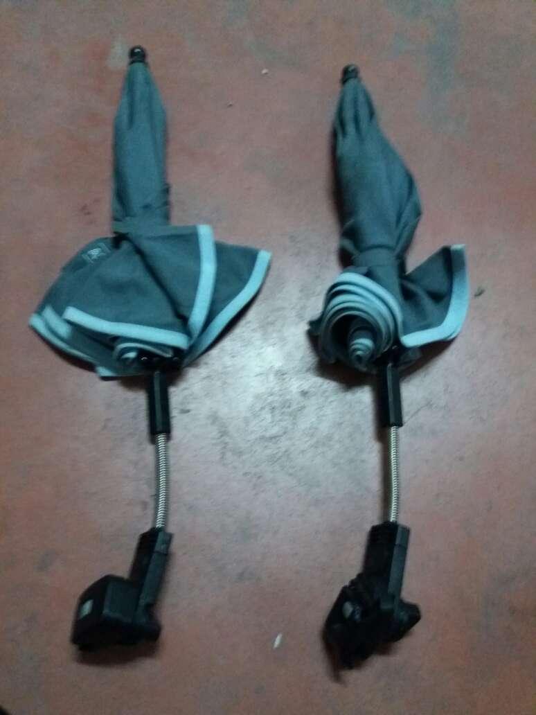 Imagen producto 2 sombrillas para carricoche. tienen el broche roto 4