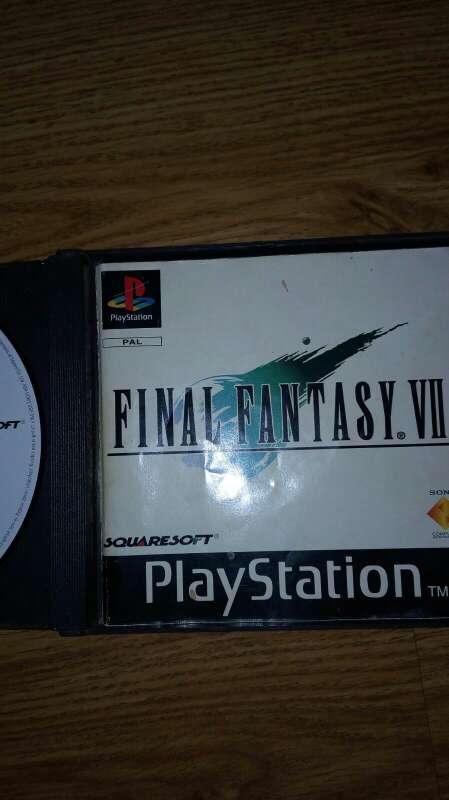 Imagen producto Final fantasy VII 2