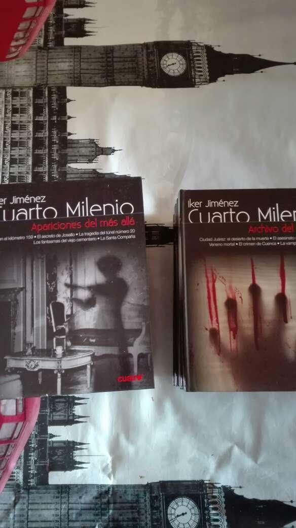 Imagen Cuarto milenio colección libros-dvd