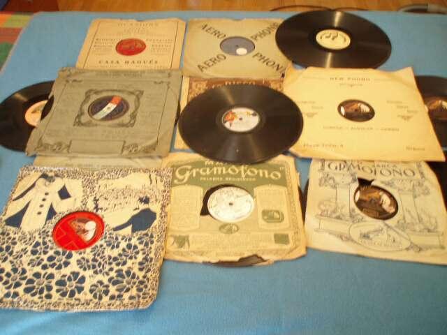 Imagen discos gramófono