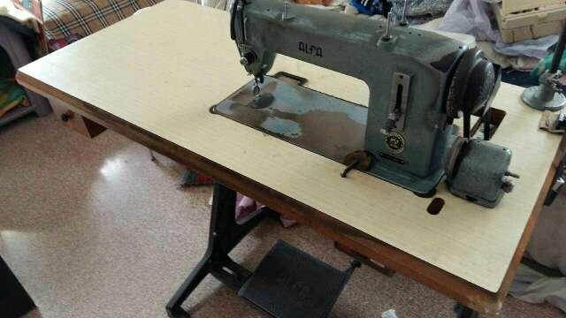 Imagen máquina de coser marca Alfa