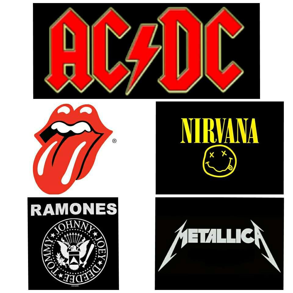 Imagen Camisetas rock varias