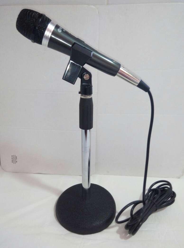 Imagen producto Soporte micro+pinza+microfono+cable nuevo. 3