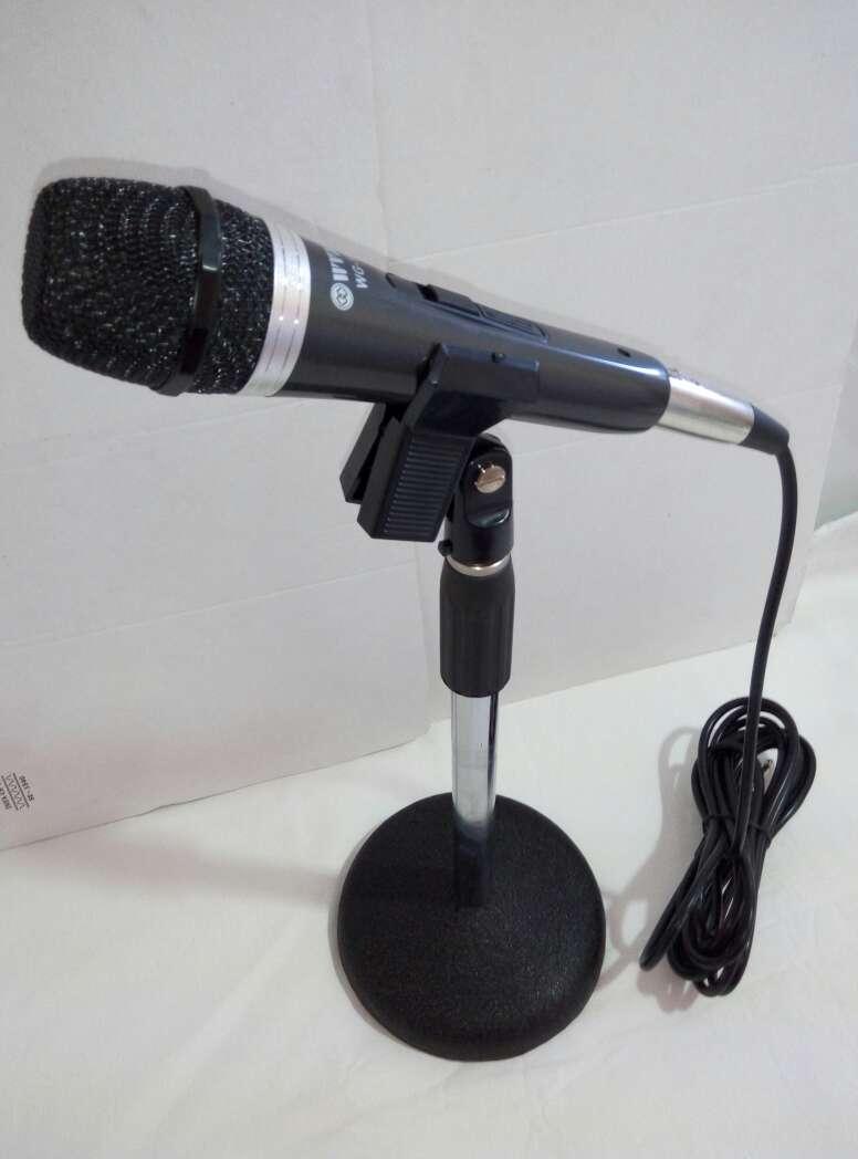 Imagen producto Soporte micro+pinza+microfono+cable nuevo. 2