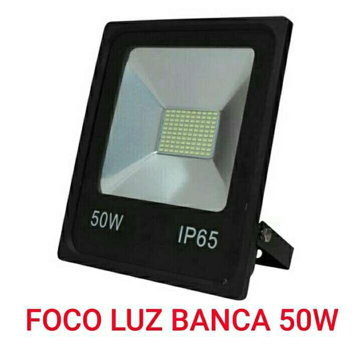 Imagen foco led smd 50w ip65 luz blanca nuevo.