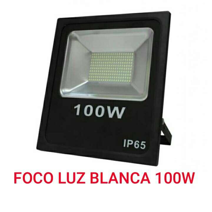 Imagen foco led smd 100w ip65 luz blanca nuevo.