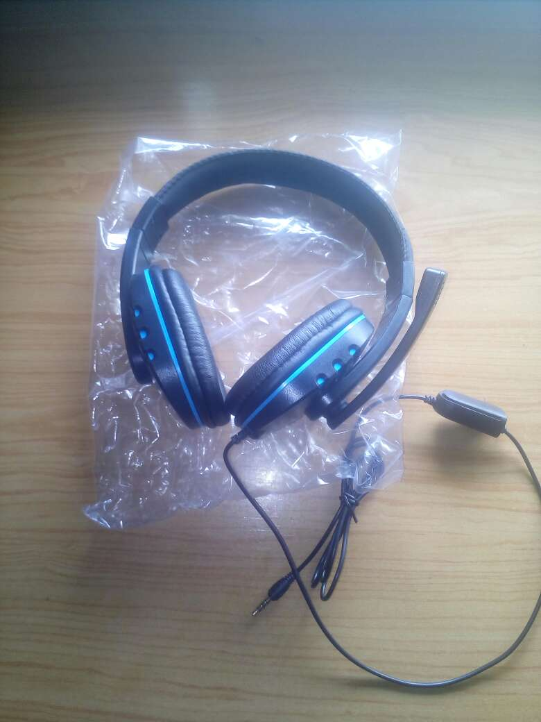 Imagen auriculares gaming ps4,pc