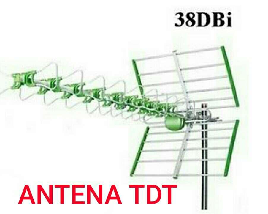 Imagen antena tdt exterior 38dbi nueva.