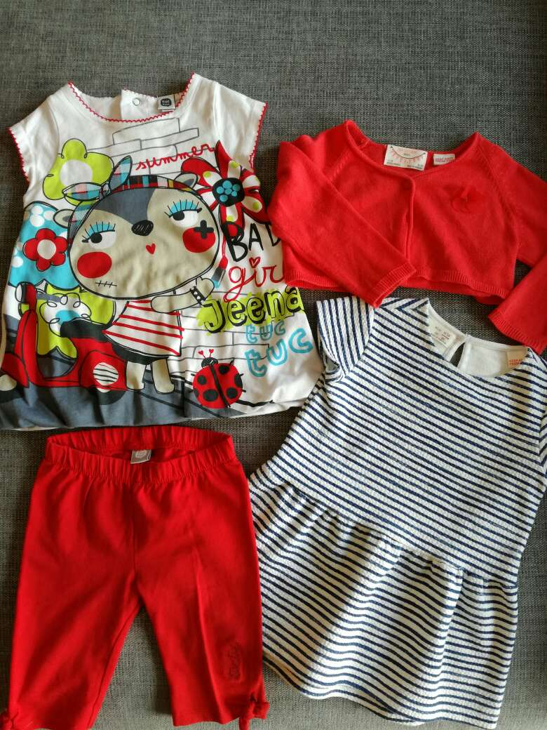 Imagen producto Ropa bebé 12 meses. Pack. 1