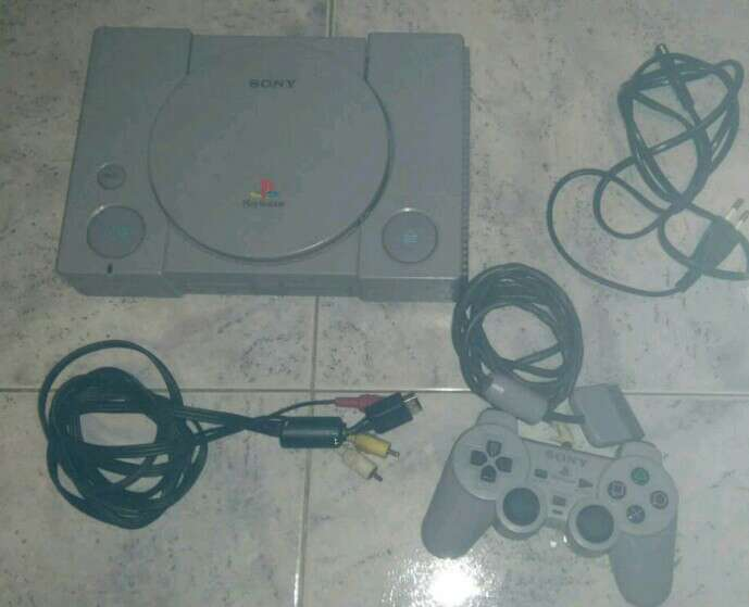 Imagen producto Consola sony playstation 1 ps1 scph-5502 original 1