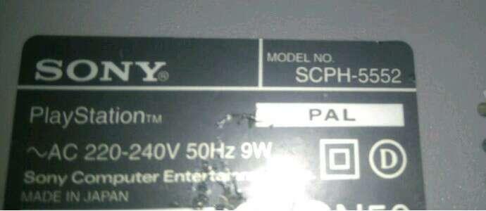 Imagen producto Consola original sony playstation 1 ps1 scph-5552 2
