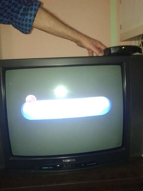 Imagen televisor nokia año 1989