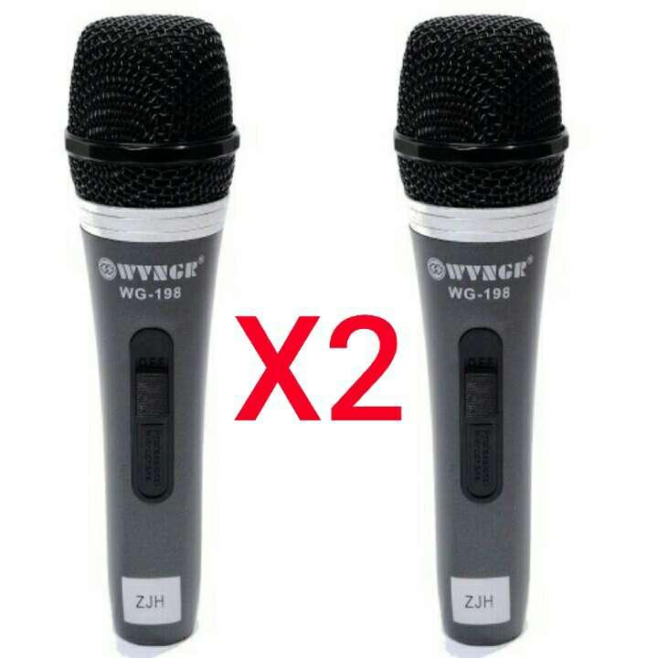 Imagen 2 unidades de microfono cardioide nuevos.
