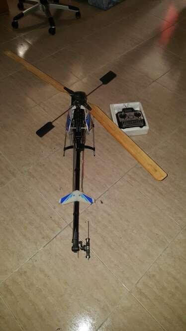 Imagen helicóptero  gasolina