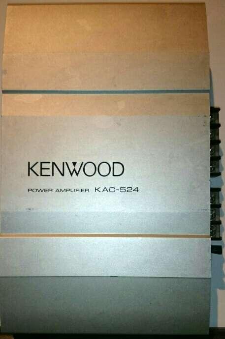 Imagen Etapa Potencia Kenwood 120W Reales RMS KAC-524