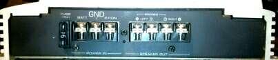 Imagen producto Etapa Potencia Kenwood 120W Reales RMS KAC-524 3