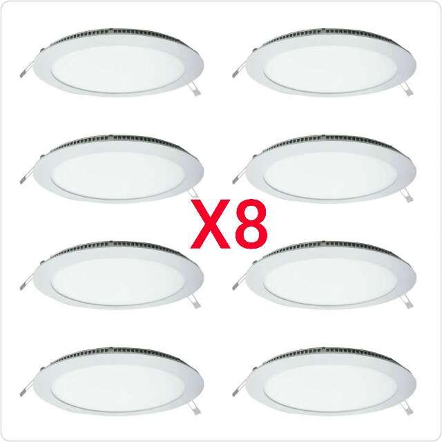 Imagen 8 downlight de 20w panel redondo nuevo.