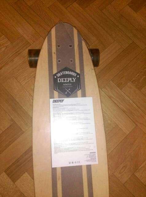 Imagen skate longboard