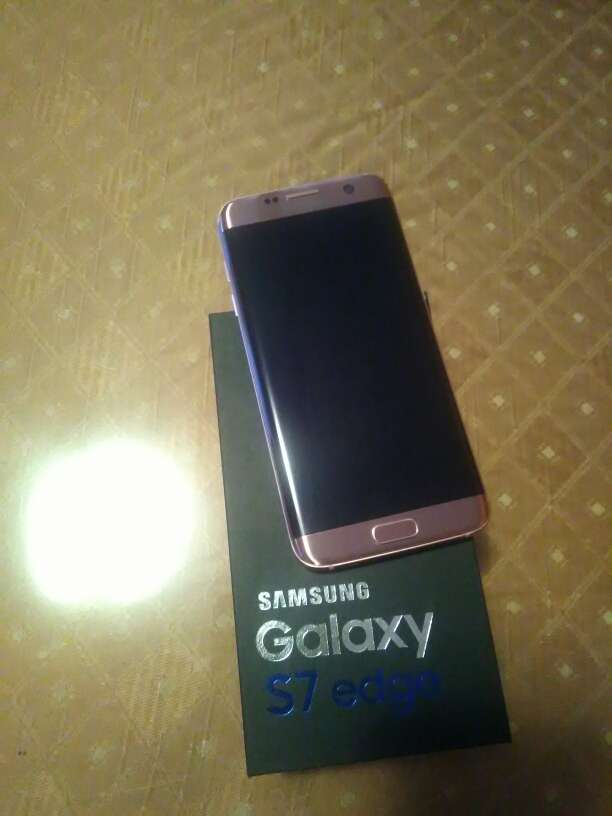 Imagen Samsung Galaxy s7 edge Rose Gold 32Gb