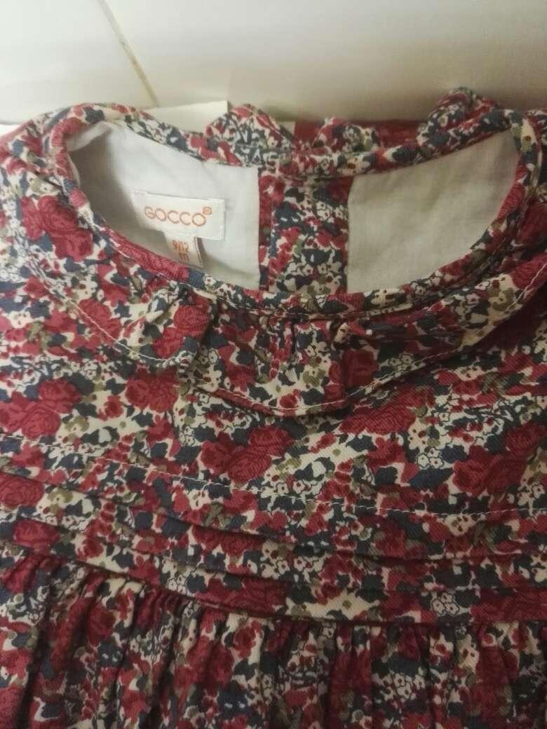 Imagen vestido precioso marca gocco talla de 9 a 12 meses