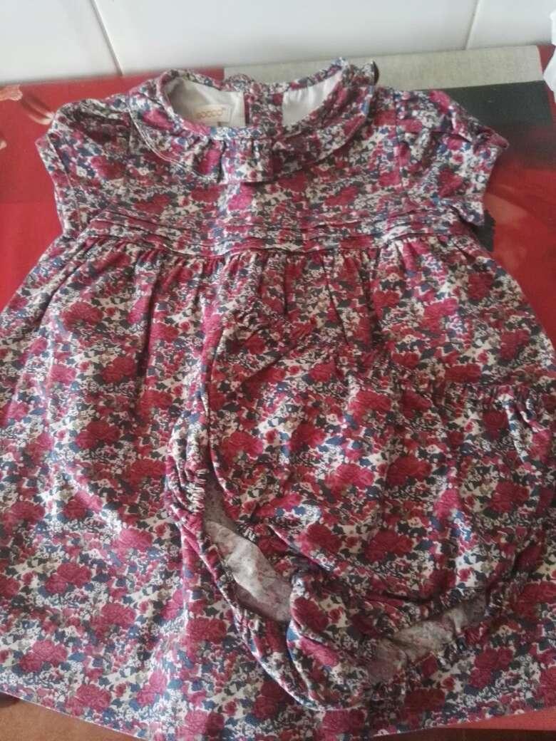 Imagen producto Vestido precioso marca gocco talla de 9 a 12 meses 2