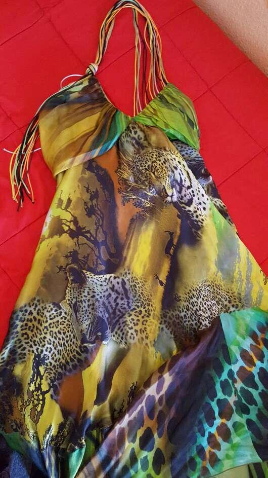 Imagen Vestido seda Pep Boluña