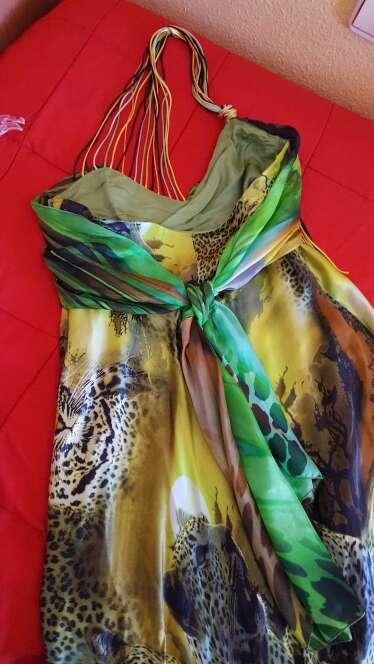 Imagen producto Vestido seda Pep Boluña  3