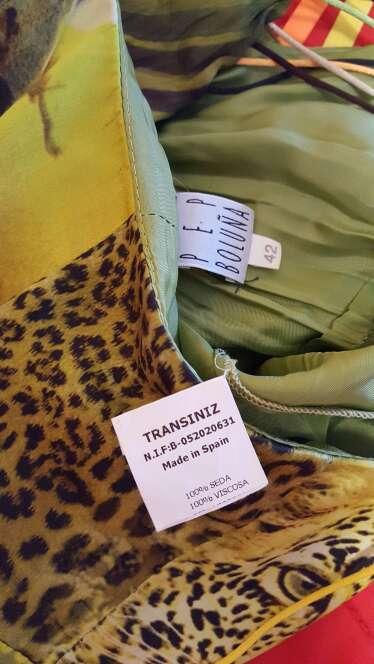 Imagen producto Vestido seda Pep Boluña  4