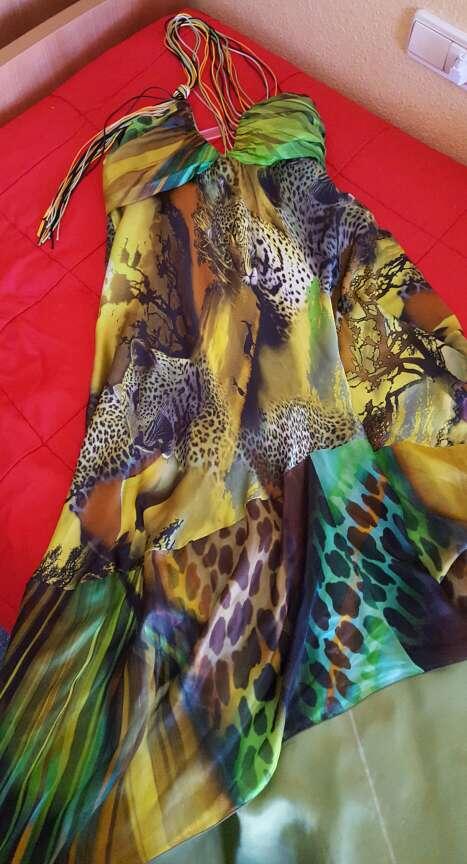 Imagen producto Vestido seda Pep Boluña  2