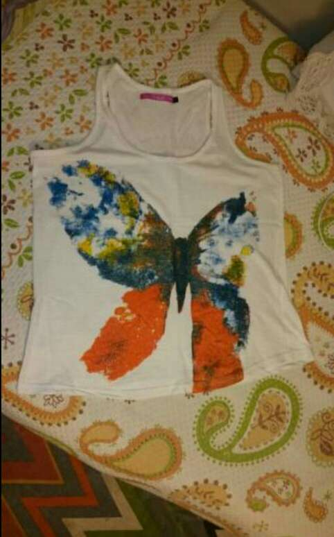 Imagen producto Camiseta mariposa 2
