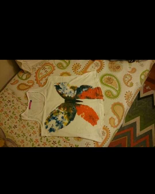 Imagen producto Camiseta mariposa 3