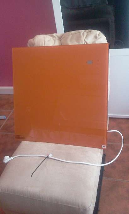 Imagen Calefacción de diseño Naranja