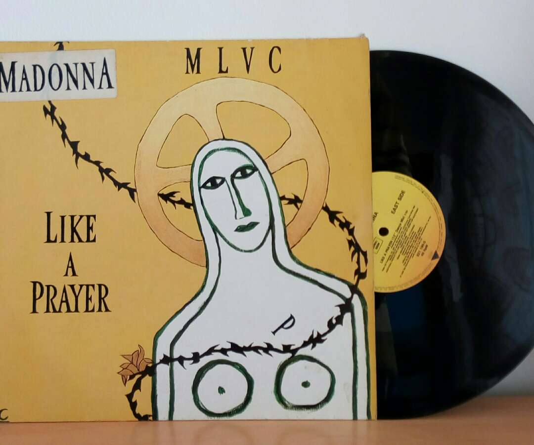 Imagen disco vinilo Madonna