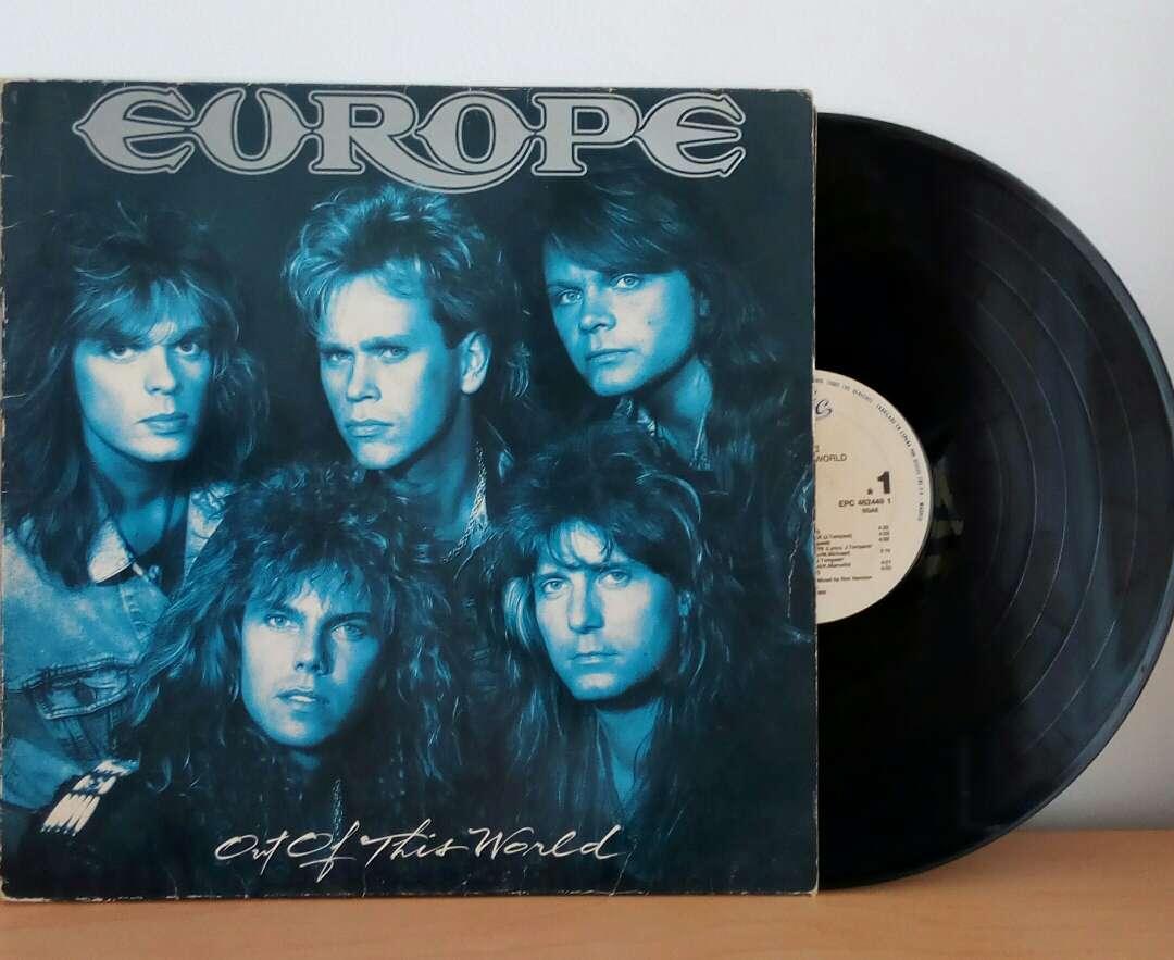 Imagen disco vinilo Europe