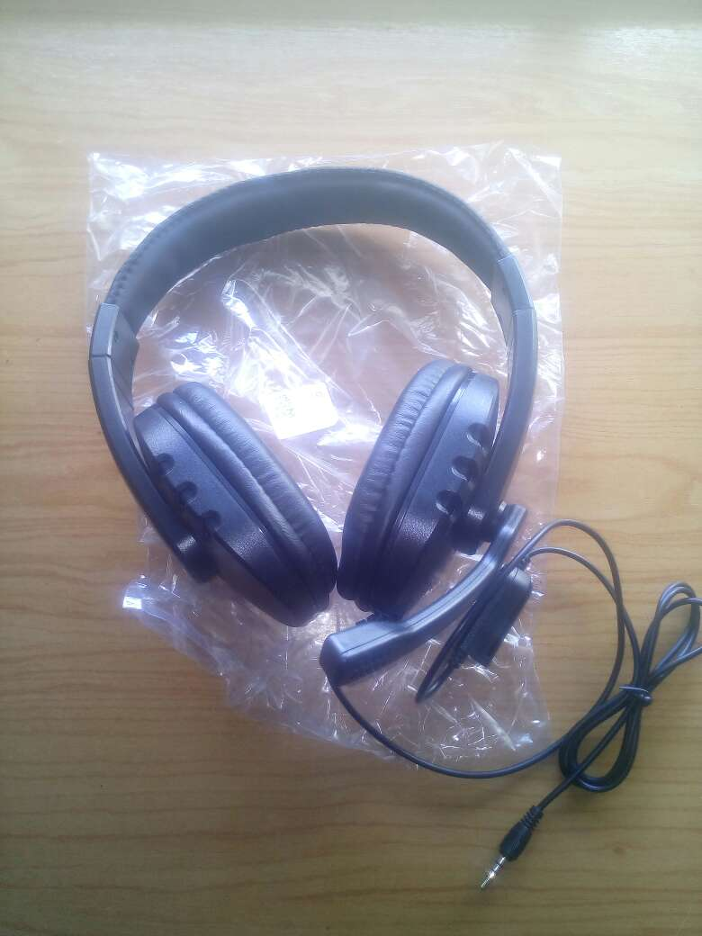 Imagen auriculares gaming ps4 pc negros