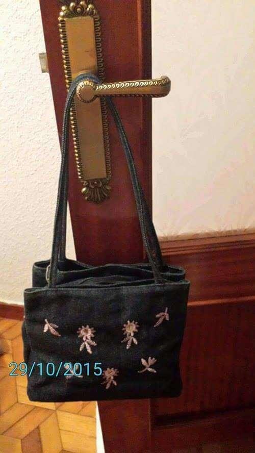 Imagen vendo bolso vaquero