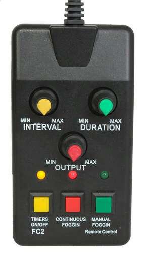 Imagen producto Maquina de humo 1200w DMX y mando nueva. 3
