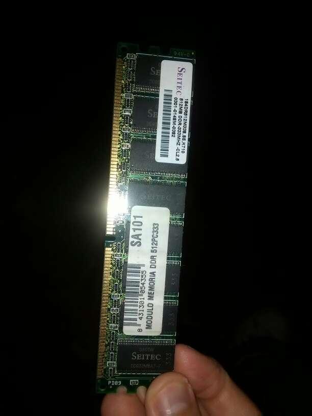 Imagen producto Memoria RAM de ordenador 1gb  2