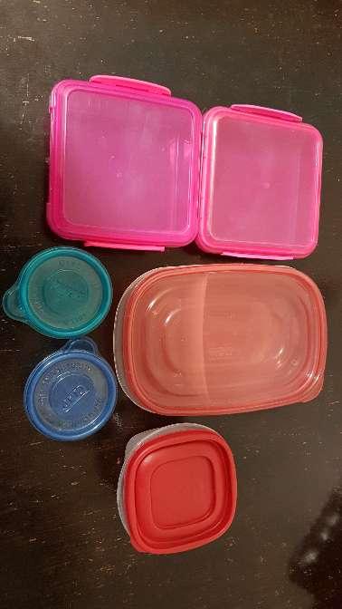 Imagen tupperwares
