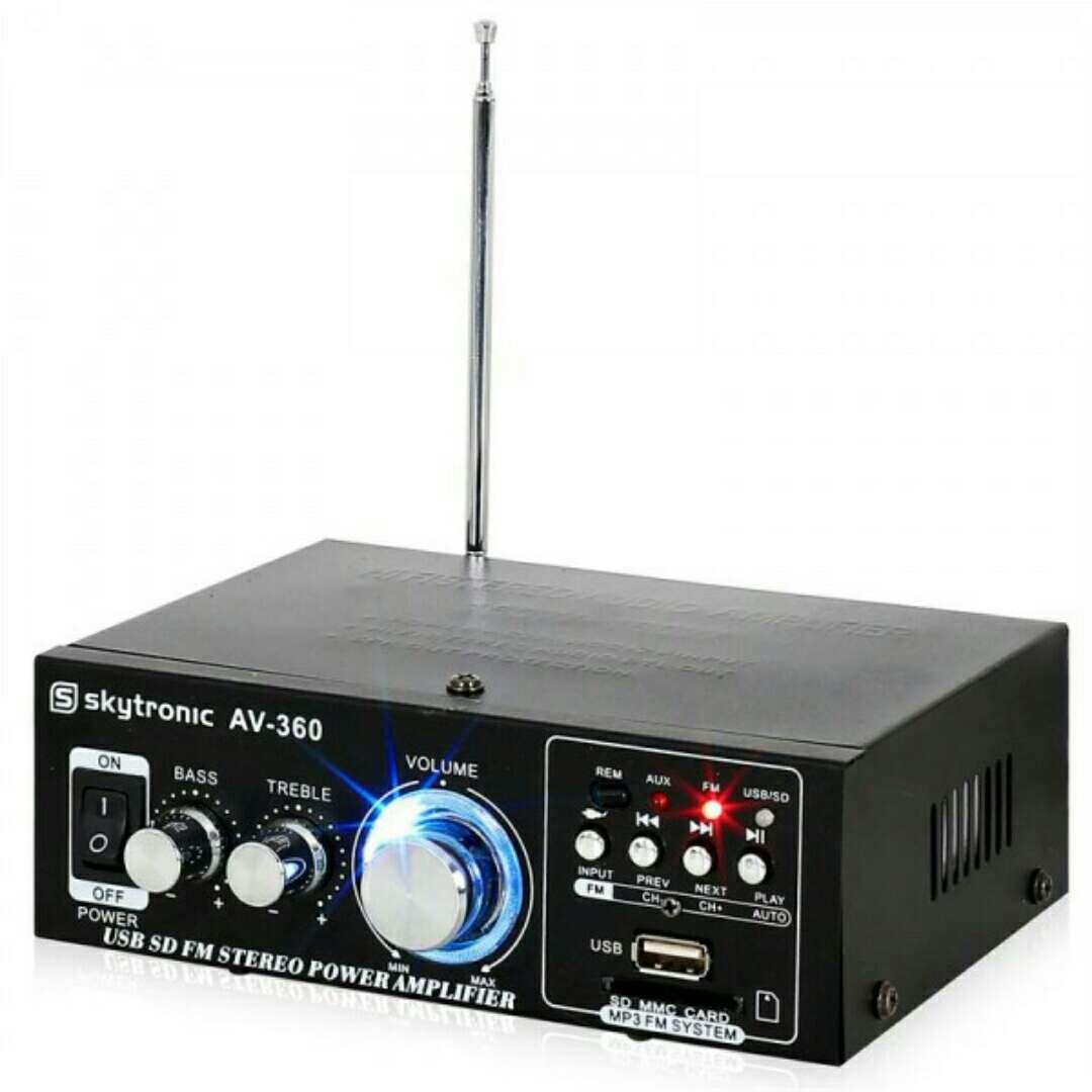 Imagen Amplificador mini Hifi 2x40w nuevo.