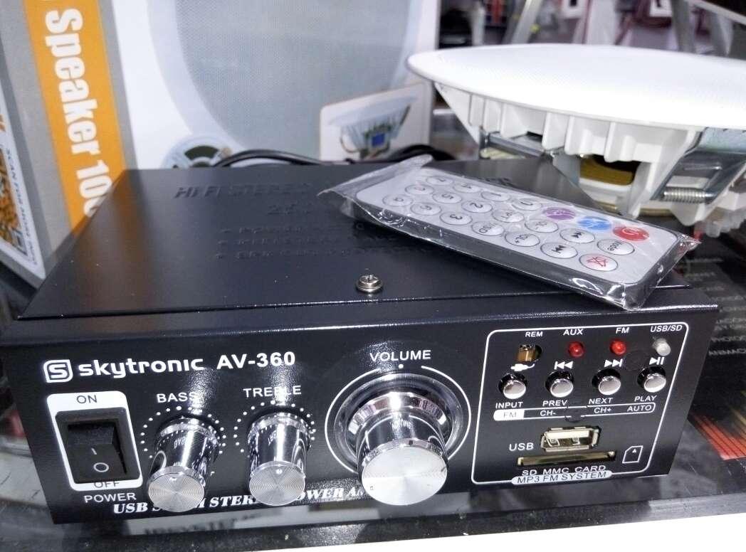 Imagen producto Amplificador mini Hifi 2x40w nuevo. 2
