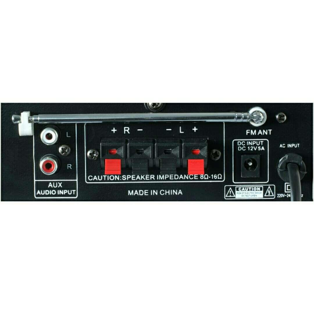 Imagen producto Amplificador mini Hifi 2x40w nuevo. 3